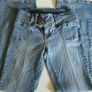 Wet Seal Flare Jeans, Juniors Sz 7